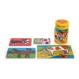 moje pierwsze puzzle farma 2 300x300 - Puzzle dla niemowląt farma