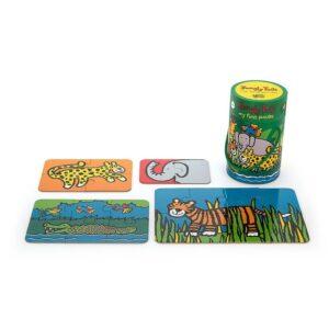 moje pierwsze puzzle jungly 2 300x300 - Puzzle dla niemowląt jungle