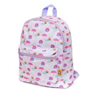 petit monkey plecak dla przedszkolaka rainy days lilac 300x300 - Plecak dla przedszkolaka parasolki i tęcze