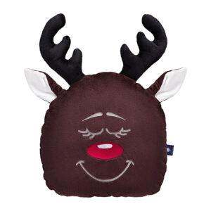 Poduszka świąteczna renifer