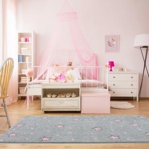 24358 kinderteppich kids love rugs heaven silbergrau rosa 4 1 300x300 - Dywan dziecięcy galaxy szary w różowe gwiazdki