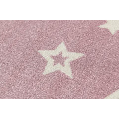 31960 kids rug happy rugs galaxy pink white 120x180cm 2 - Dywan dziecięcy starlight różowo biały