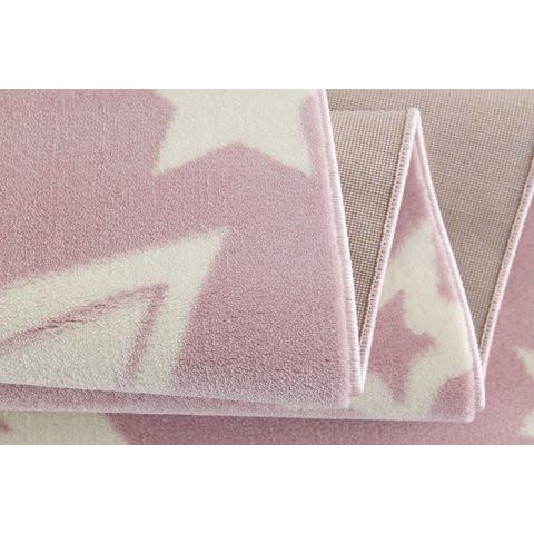 31962 kids rug happy rugs galaxy pink white 120x180cm 4 - Dywan dziecięcy starlight różowo biały