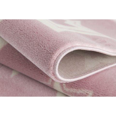 31964 kids rug happy rugs galaxy pink white 120x180cm 3 - Dywan dziecięcy starlight różowo biały