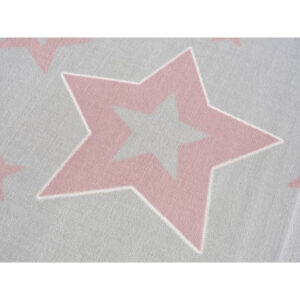 Dywan dziecięcy starlight szaro różowy