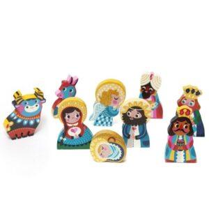Klocki figurki Szopka Bożonarodzeniowa