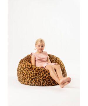pufa lampart wild soft 2 300x360 - Pufa dla dzieci Lampart
