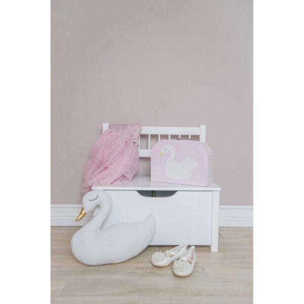 walizka labedz i flaming komplet 2 600x600 - Walizka dla dzieci łabędź i flaming 2 szt