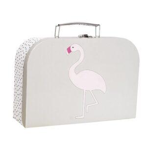walizka labedz i flaming komplet 4 300x300 - Walizka dla dzieci łabędź i flaming 2 szt