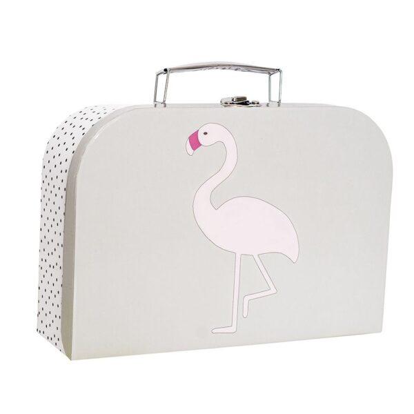 walizka labedz i flaming komplet 4 600x600 - Walizka dla dzieci łabędź i flaming 2 szt