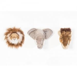Zestaw trzech małych trofeów Safari