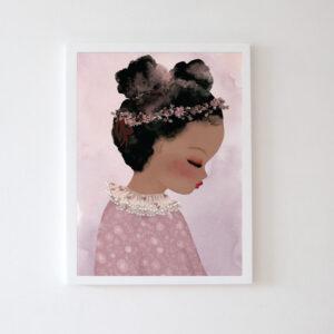 Plakat na ścianę dziewczynka Jasmin