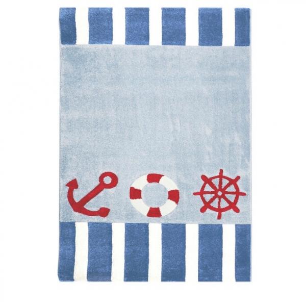 Dywan dla dzieci marynarski