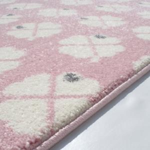 21072 kinderteppich bygraziela design kleeblatt rosa weiss 3 300x300 - Dywan dla dzieci różowy w koniczynki
