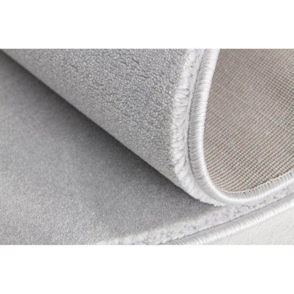 31776 kids rug happy rugs shootingstar silver gray white 133cm round 3 600x600 - Dywan szary okrągły z białą gwiazdą