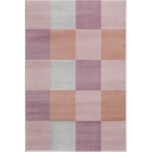 31848 kids rug happy rugs checkerboard pink 120x180cm 300x300 - Dywan dziecięcy różowa kratka