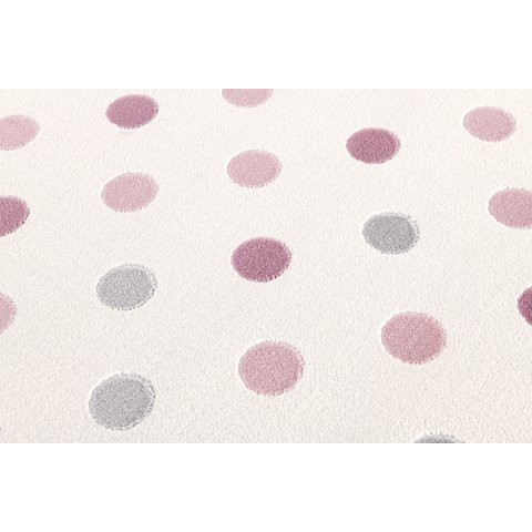 31870 kids rug happy rugs confetti cream pink silver grey 120x180cm 2 - Dywan dziecięcy confetti Cream and Pink