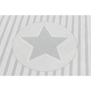 31908 kids rug happy rugs decostar silver grey white 120x180cm 2 300x300 - Dywan dziecięcy Decostar Grey and White