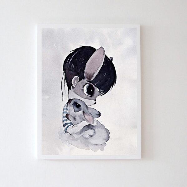 Plakat na ścianę chłopczyk Alvi