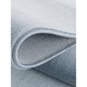 32394 kids rug happy rugs uni blue 133 cm round 2 300x300 - Dywan dziecięcy okrągły niebieski