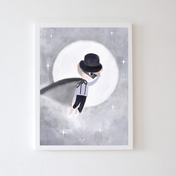 Plakat na ścianę chłopczyk Oskarii