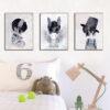 Zestaw plakatów dziecięcych Alvi, Roni, Elmo