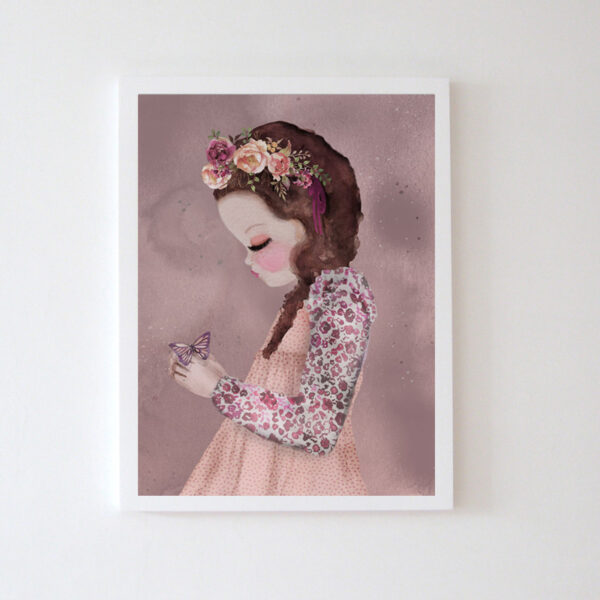 Plakat na ścianę dziewczynka Emilia