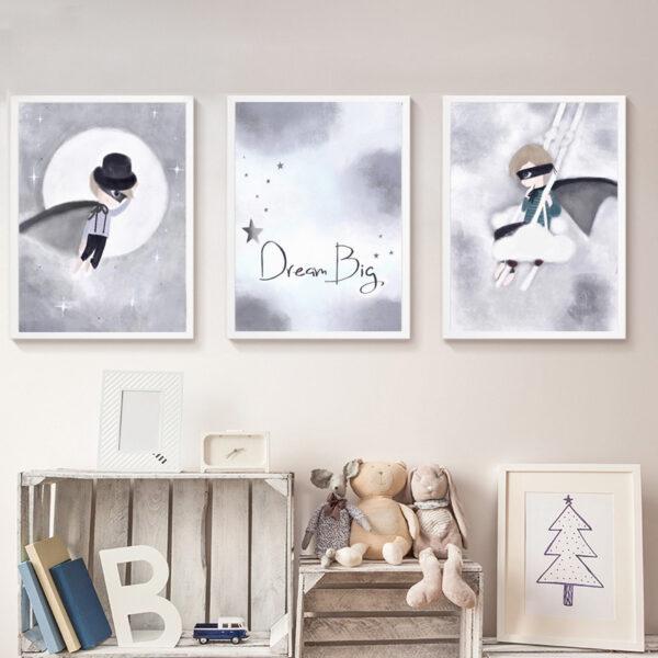 Zestaw plakatów dziecięcych Oskarii Kai