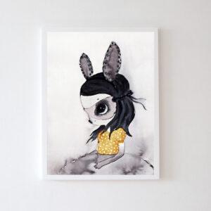 Plakat na ścianę dziewczynka Rebekka