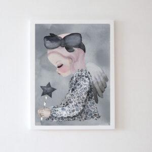 Plakat na ścianę dziewczynka Milja