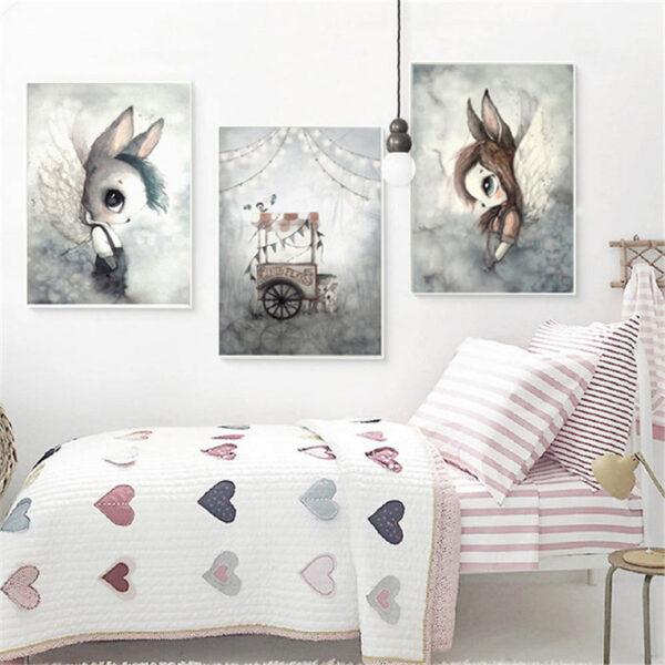 Zestaw plakatów na ścianę Ruupo Essi&Enni Aina
