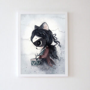 Plakat na ścianę dziewczynka Leila