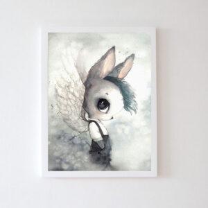 Plakat na ścianę chłopczyk Ruupo