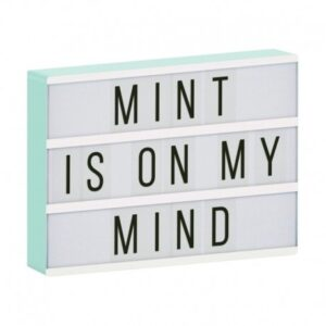 Lampa Lightbox LED a4 mint