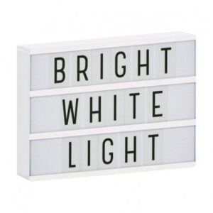 Lampa Lightbox LED a4 white