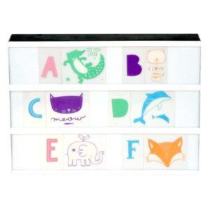 a little lovely company litery do lightboxa zestaw abc pastel 2 300x300 - Zestaw do Lightboxa ABC Pastel