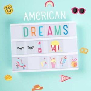 Zestaw do Lightboxa American Dreams