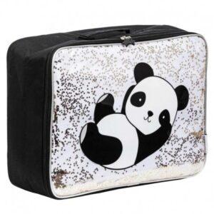 Walizka dziecięca Glitter Panda