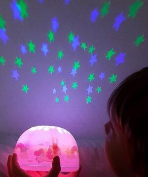 Projektor dla dzieci jednorożec
