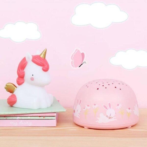 Projektor dla dzieci króliczek