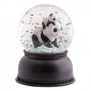 Świecąca kula śnieżna Panda
