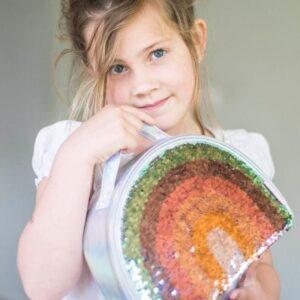 Termiczny Lunchbox dla dzieci tęcza