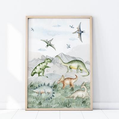 Plakat na ścianę dinozaur P286