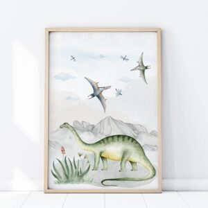 Plakat na ścianę dinozaury P283