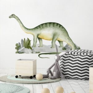 Naklejki na ścianę dinozaury zestaw DK399