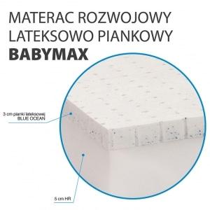 Materac z lateksem Hevea Happy Baby Max 4 300x300 - Materac z lateksem Happy Baby Max