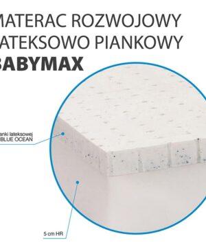 Materac z lateksem Hevea Happy Baby Max 4 300x360 - Materac z lateksem Happy Baby Max