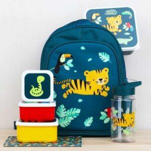 Śniadaniówka dla dziecka wesoły tygrysek 4 szt