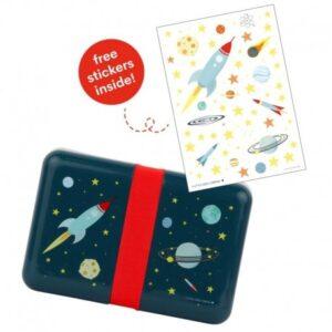 Śniadaniówka dla dziecka kosmos