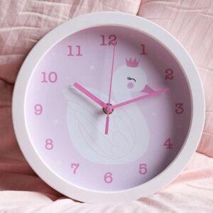 Zegar dla dziecka Łabędź